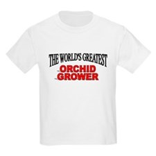 """""""The World's Greatest Orchid Grower"""" T-Shirt"""