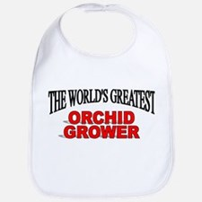 """""""The World's Greatest Orchid Grower"""" Bib"""