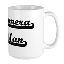 Camera Man Artistic Job Design Mugs