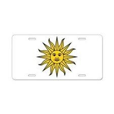 Sun of May Aluminum License Plate