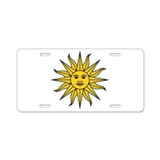 Sun of May Aluminum License Plate