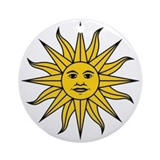 Sun of May Ornament (Round)
