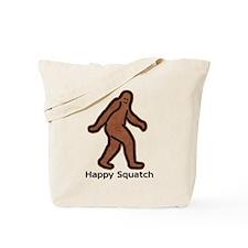 Happy And Sad Squatch Tote Bag