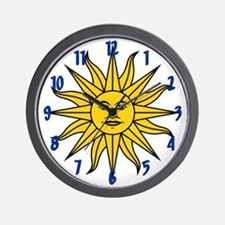 Sun of May Wall Clock