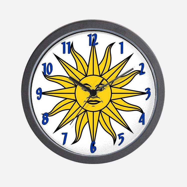 Sun of May Wall Clock