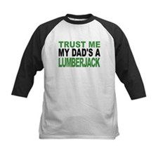 Trust Me My Dads A Lumberjack Baseball Jersey
