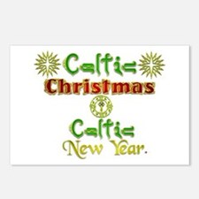 Celtic Xmas and New Year. Postcards (Package of 8)