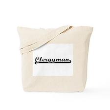 Clergyman Artistic Job Design Tote Bag