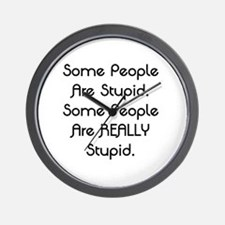 Really Stupid Wall Clock