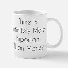Time and Money Mug