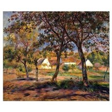 Renoir - Outskirts of Pont-Aven Poster