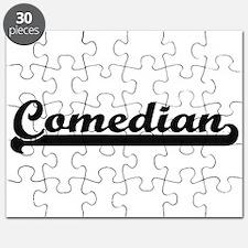 Comedian Artistic Job Design Puzzle