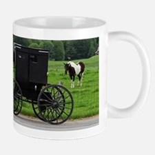 Amish Buggy Mugs