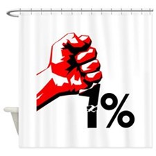 99% Power Shower Curtain