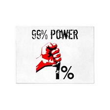 99% Power Occupy 5'x7'Area Rug