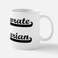 Corporate Librarian Artistic Job Design Mug