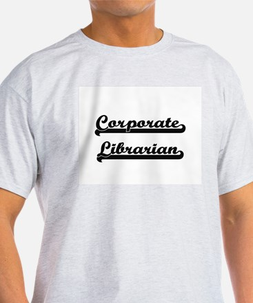 Corporate Librarian Artistic Job Design T-Shirt