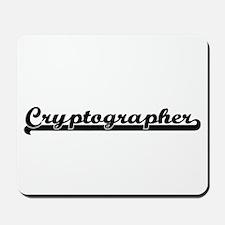 Cryptographer Artistic Job Design Mousepad