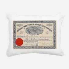 Virginia Tech Rectangular Canvas Pillow