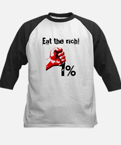 Funny Eat The Rich Occupy Baseball Jersey