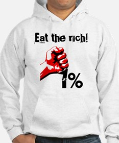 Funny Eat The Rich Occupy Hoodie
