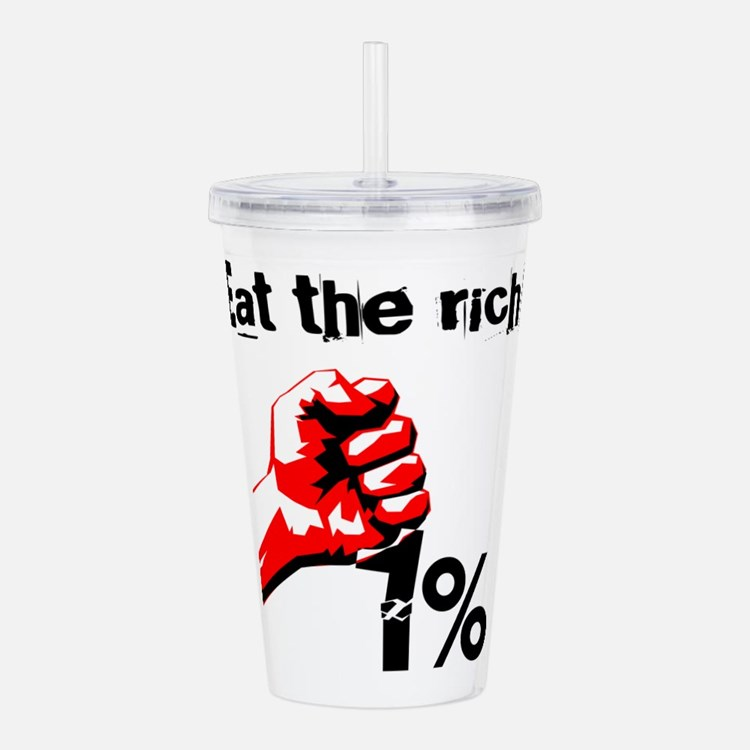 Funny Eat The Rich Occ Acrylic Double-wall Tumbler