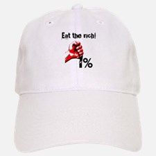 Funny Eat The Rich Occupy Baseball Baseball Cap