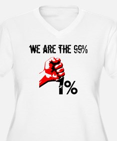 We Are The 99% Occupy Plus Size T-Shirt