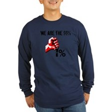 We Are The 99% Occupy Long Sleeve T-Shirt