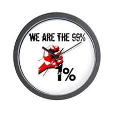 We Are The 99% Occupy Wall Clock