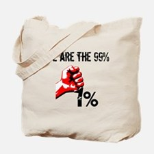 We Are The 99% Occupy Tote Bag