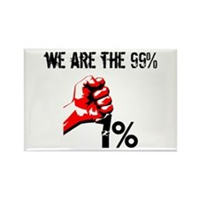 We Are The 99% Occupy Magnets