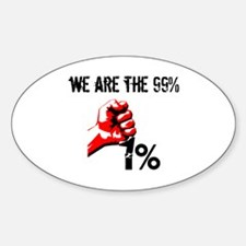 We Are The 99% Occupy Decal