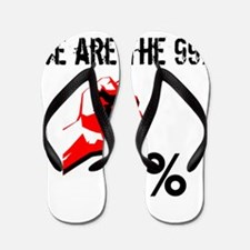 We Are The 99% Occupy Flip Flops