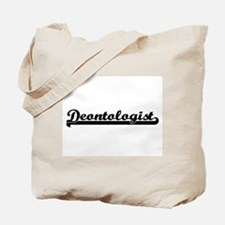 Deontologist Artistic Job Design Tote Bag