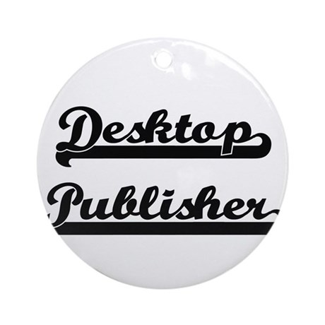Desktop publisher artistic job de ornament round by for Desktop publisher job