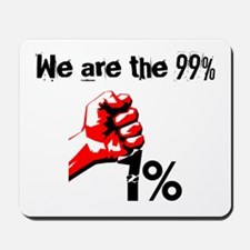 We Are The 99% Occupy Mousepad