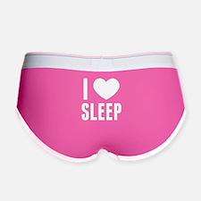 I HEART SLEEP Women's Boy Brief