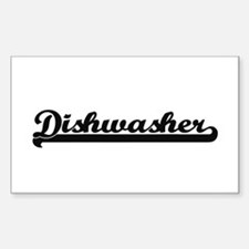 Dishwasher Artistic Job Design Decal