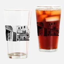 new orleans french quarter corner Drinking Glass