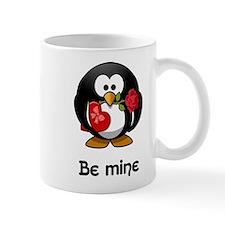 Be Mine Penguin Mugs