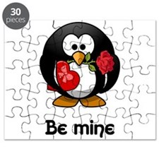 Be Mine Penguin Puzzle