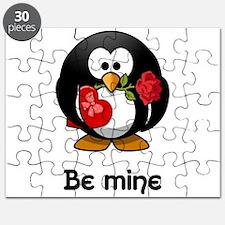 Be Mine Penguin Puzzle