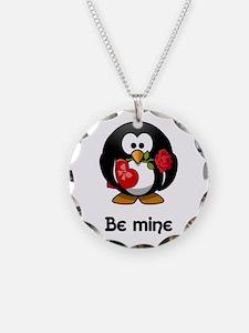 Be Mine Penguin Necklace