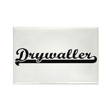 Drywaller Artistic Job Design Magnets