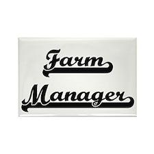 Farm Manager Artistic Job Design Magnets