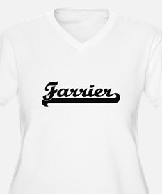 Farrier Artistic Job Design Plus Size T-Shirt