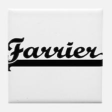 Farrier Artistic Job Design Tile Coaster