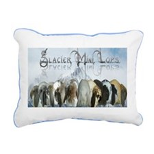 Glacier Mini Lops Rectangular Canvas Pillow