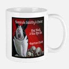 Bunnicula Rabbitry Cavies Logo 2013 Mugs